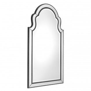 LUSTRO Mirror Samuel black finish 80X150CM