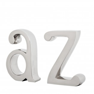 Bookend A-Z set of 2