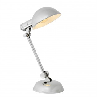 LAMPA Desk Lamp Navy nickel finish 17X17X40CM