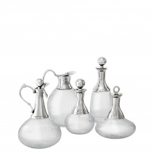 KARAFKA DECANTER BRANKLYN SET OF 5