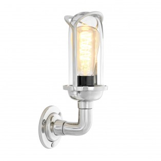 Wall Lamp Wolseley nickel finish
