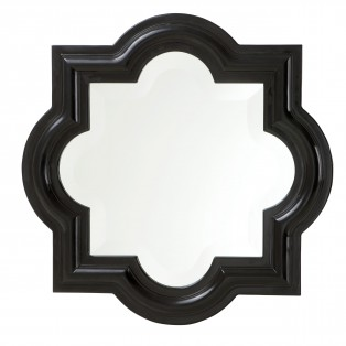 LUSTRO MIRROR DOMINION PIANO BLACK 50x50cm