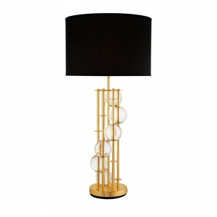 Table Lamp Lorenzo gold finish 85x45x20cm