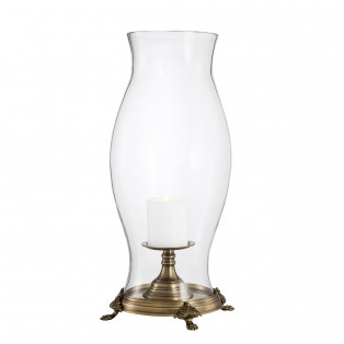LAMPION Hurricane Splendido antique brass finish 2953,5cm
