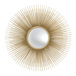 LUSTRO Mirror Solaris gold finish S 61X8CM