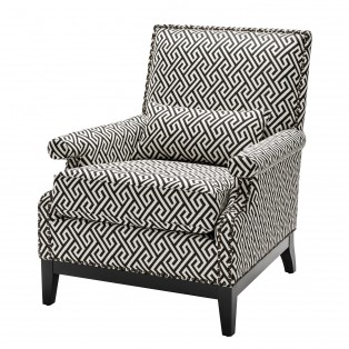 FOTEL Chair Goldoni dudley black 75X85X93CM