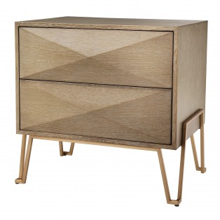 KOMODA Bed Side Table Highland oak 62,5X49X60CM