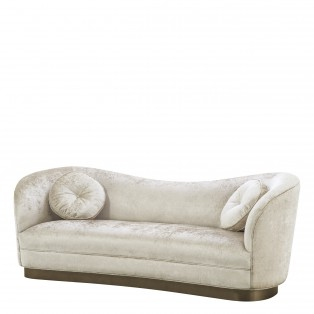 SOFA JACKIE OFF-WHITE 230x85x82cm