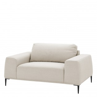 SOFA Loveseat Montado panama natural 158X93X80CM