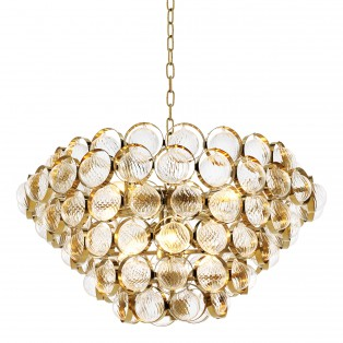 LAMPA Chandelier Opera gold finish 72X40CM