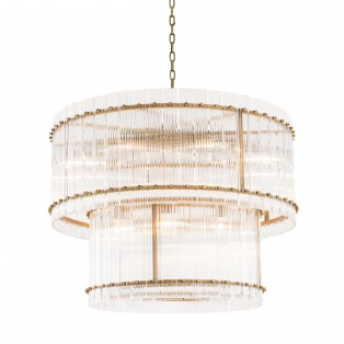 Żyrandol Chandelier Ruby L antique brass finish fi 93 x 70h
