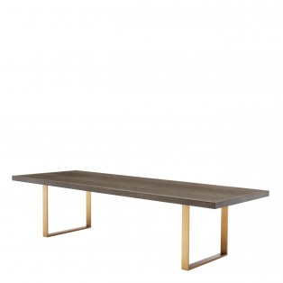 STÓŁ Dining Table Melchior brown 300X115X75 cm