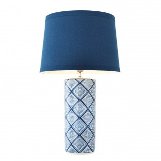 LAMPA Table Lamp Forever blue ceramic 20X50X48CM