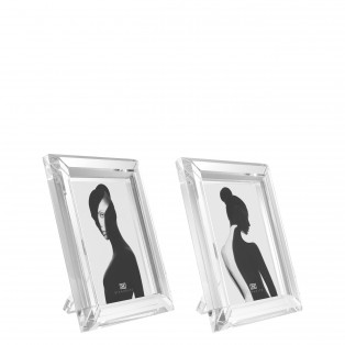 RAMKA PICTURE FRAME THEORY L SET OF 2 19x24x2,5cm
