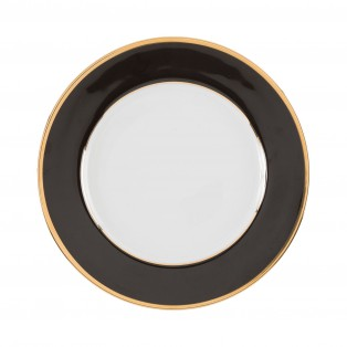 TALERZ OBIADOWY GINGER DORE BLACK ø27cm COTE TABLE - MY HONEY HOME
