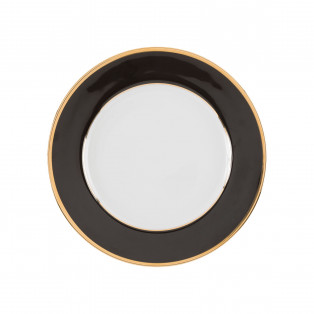 TALERZ DESEROWY GINGER DORE BLACK ø20cm COTE TABLE - MY HONEY HOME
