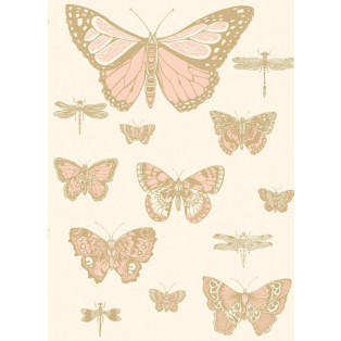 Tapeta Whimsical Butterflies & Dragonflies Cole&Son - My Honey Home