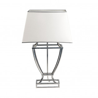 LAMPA SILVER CINDY S 67cm