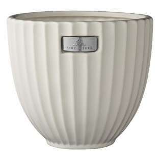 DONICZKA ROSALIE OFF WHITE FLOWER POT 16 cm LENE BJERRE - MY HONEY HOME