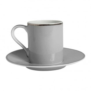 FILIŻANKA DO ESPRESSO GINGER GREY 10CL COTE TABLE - MY HONEY HOME