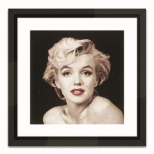 GRAFIKA MARILYN MONROE RED LIPS - 44X44CM - MY HONEY HOME