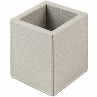 POJEMNIK 9x9X10[cm] PEN HOLDER LIGHT GREY GIOBAGNARA